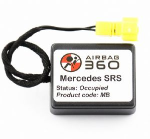 Mercedes ML SRS Front  Passenger Seat mat Occupancy Sensor, occupied recognition sensor  emulator / bypass